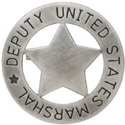 Deputy U.S. Marshall Badge